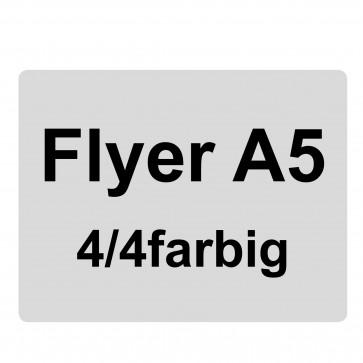 Flyer A5, 4/4-farbig
