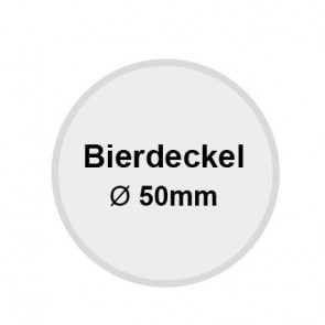 Bierdeckel 50mm