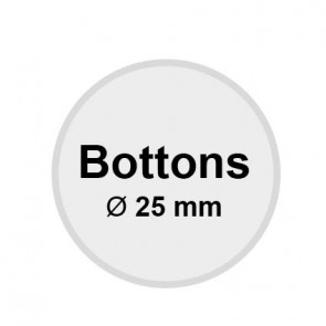 Buttons 25 mm