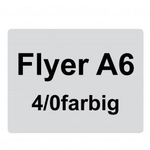 Flyer A6, 4/0-farbig