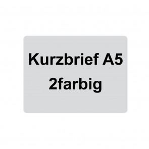 Kurzbrief 2farbig