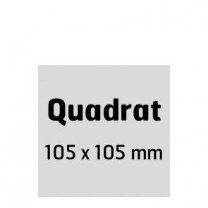 Postkarte Quadrat 105x105mm