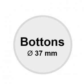 Buttons 37 mm