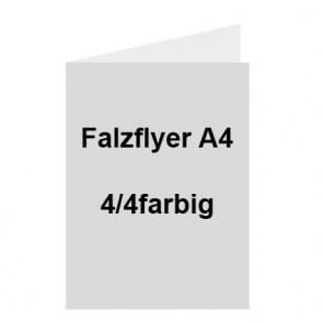 Falzflyer A4