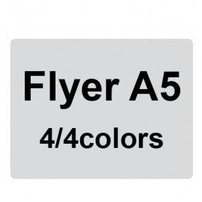 Flyer A5 4/4 colors